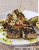 Фото к рецепту: Шашлыки из рыбы