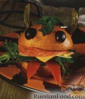 Фото к рецепту: Забавные сэндвичи