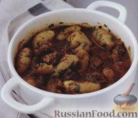 Фото к рецепту: Баранина (ягнятина) с картофелем
