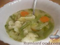 Фото к рецепту: Летний овощной суп