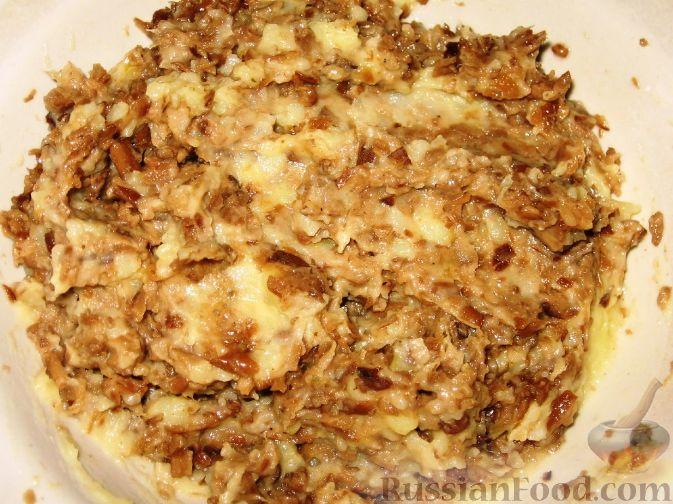 Вареники с картофелем грибами рецепт с фото