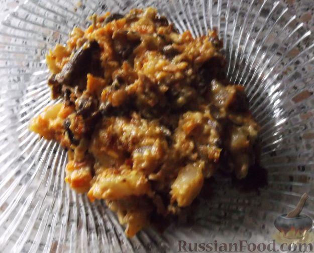Рецепт Тушеный картофель с грибами