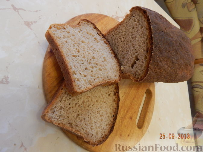 Рецепт Хлеб гречневый белый