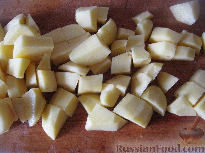 Фото приготовления рецепта: Рассольник овощной - шаг №1