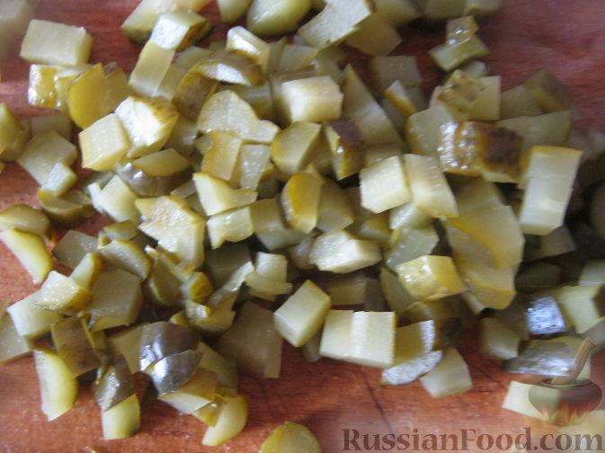 Фото приготовления рецепта: Рассольник овощной - шаг №4