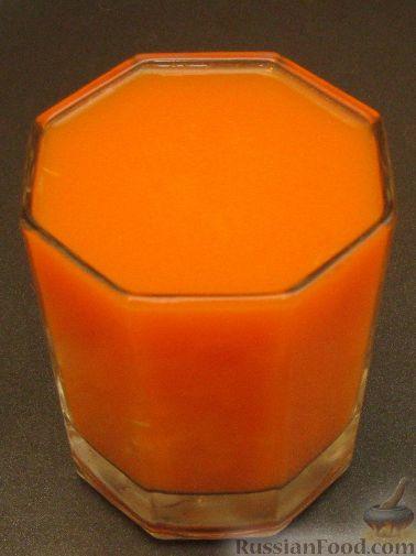 Рецепт Фреш-сок морковный с мандарином
