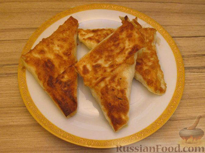 Рецепт Треугольные пирожки из лаваша