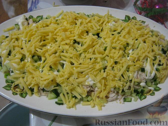 салат из грецких орехов и курицы рецепт с фото