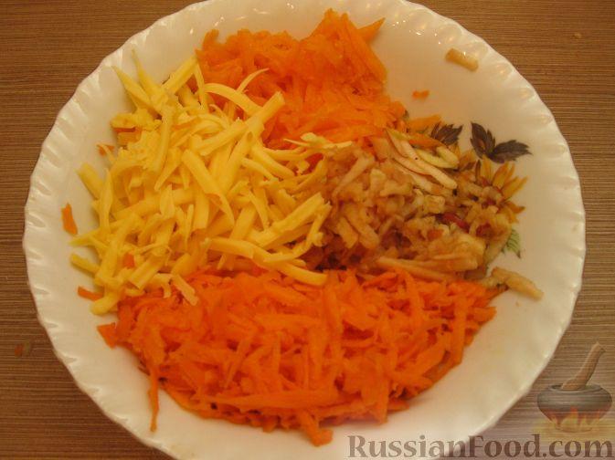 """Фото приготовления рецепта: Салат """"Оранжевое настроение"""" - шаг №5"""