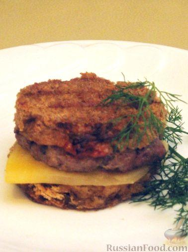 Рецепт Чизбургер по-домашнему