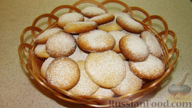 Рецепт Песочное печенье из вареных желтков