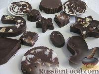 Фото к рецепту: Шоколадные  конфеты