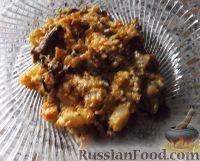 Фото к рецепту: Тушеный картофель с грибами
