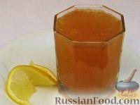 Фото к рецепту: Грушевый сок с лимоном и ванилью