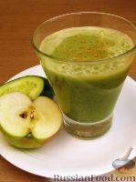 Фото к рецепту: Сок огуречно-яблочный