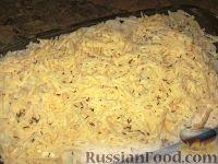 Фото приготовления рецепта: Картофельный гратен с овощами - шаг №6
