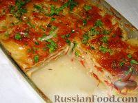 Фото приготовления рецепта: Картофельный гратен с овощами - шаг №7