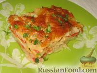Фото приготовления рецепта: Картофельный гратен с овощами - шаг №8
