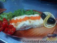 Фото к рецепту: Сёмга под сырной корочкой