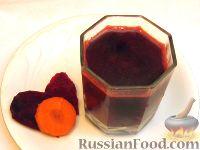 Фото к рецепту: Сок свекольно-морковный