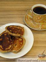 """Фото к рецепту: Кофейные оладьи """"Понедельник. Завтрак"""""""
