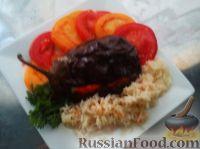 Фото к рецепту: Запечёный баклажан с сыром