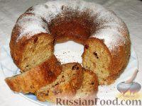 Фото к рецепту: Пряный кекс с вяленой клюквой
