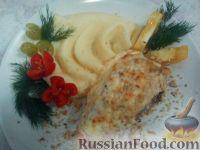 Фото к рецепту: Куриная грудка под сырной корочкой