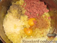 """Фото приготовления рецепта: Картофельный """"Гато"""" (запеканка) - шаг №3"""