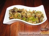 Фото к рецепту: Салат с баклажанами по-корейски