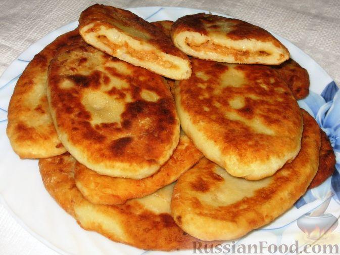 Рецепт Картофельные язычки с капустой