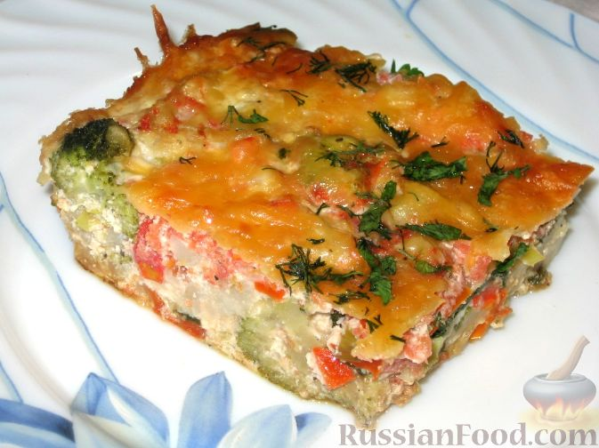 Блюда из цветной капусты рецепты запеканка с мясом