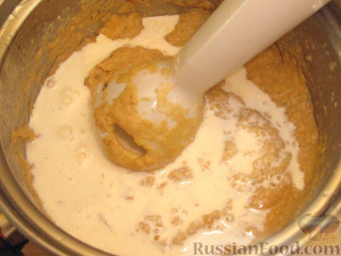 Фото приготовления рецепта: Крем-суп из баклажанов с помидорами - шаг №12