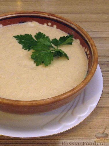 Фото приготовления рецепта: Крем-суп из баклажанов с помидорами - шаг №13