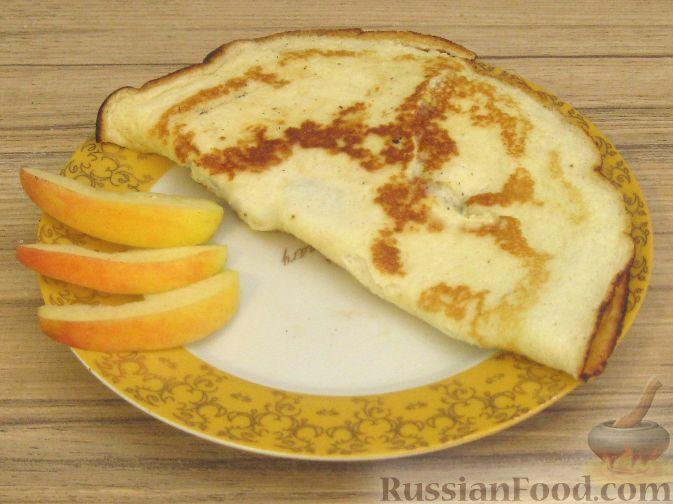 Рецепт Десертный творожный омлет