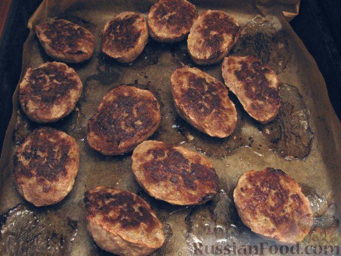 котлеты из говяжьего фарша рецепт в духовке с
