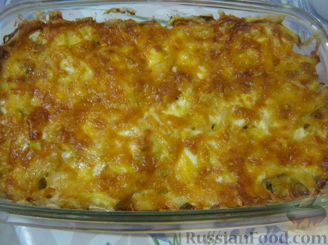 рецепт картофельной с мясом в духовке