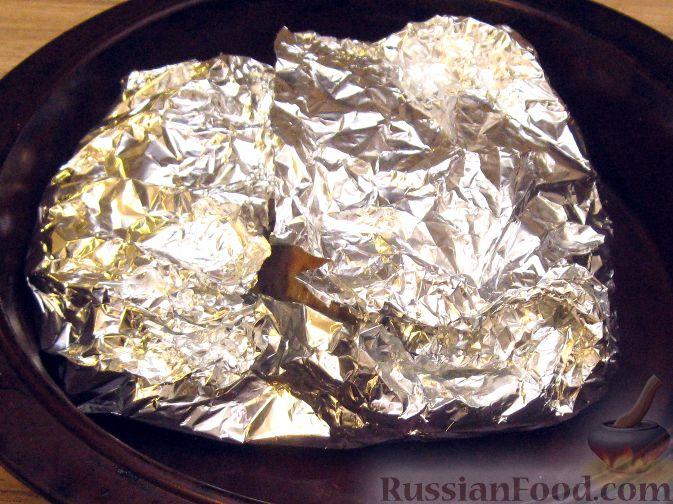 рецепт голени индейки в духовке с фото