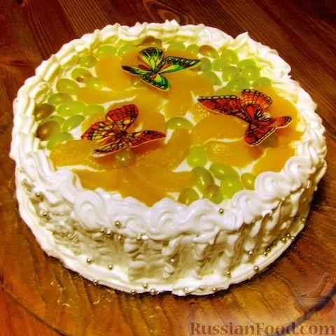 торт со сметанным кремом рецепты без выпечки рецепт