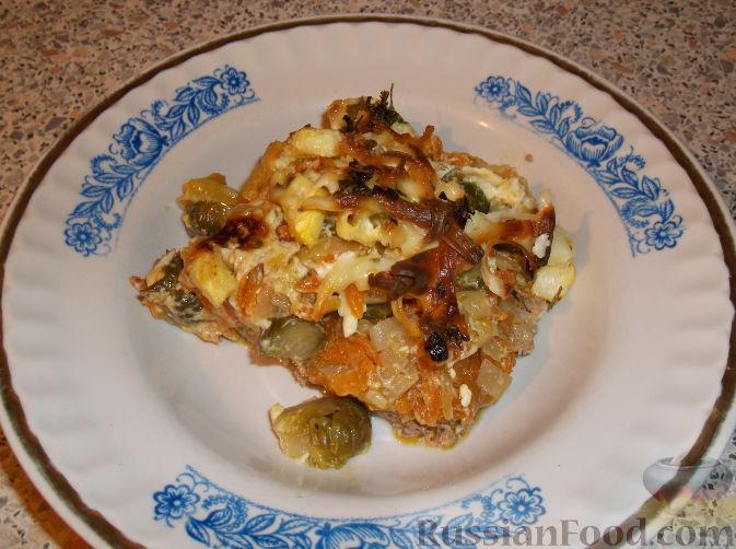 Рецепт Запеканка из фарша с овощами