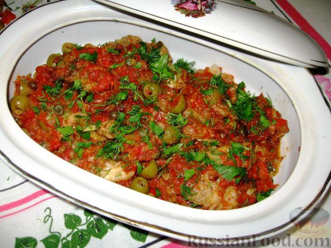 Рецепт Судак в остром соусе-маринаде