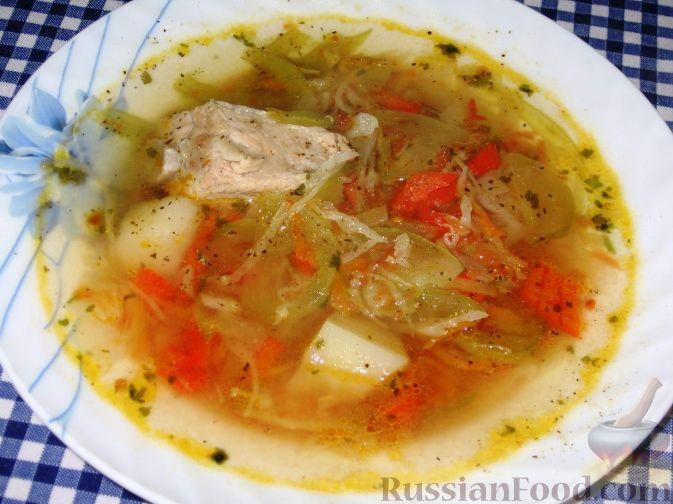 Фото приготовления рецепта: Суп с зелеными помидорами - шаг №6