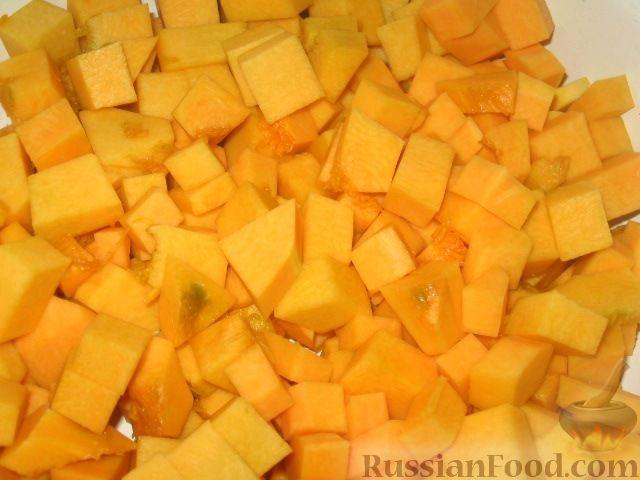 Фото приготовления рецепта: Гарбузовая (тыквенная) каша с пшеном - шаг №2
