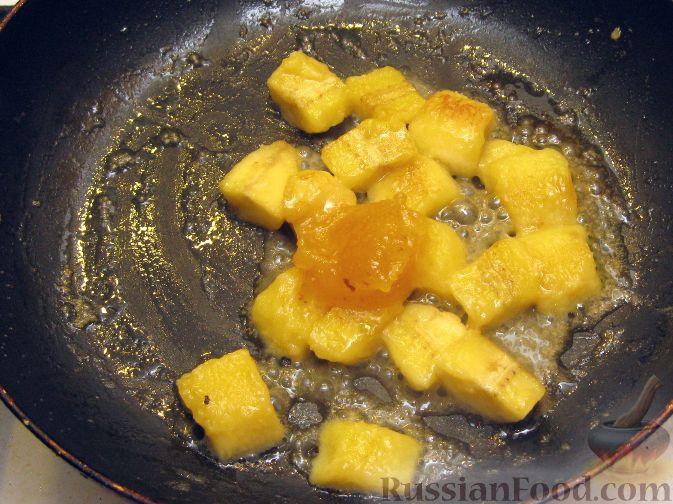 Как приготовить начинку из бананов