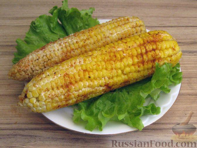 Рецепт Кукуруза по-мексикански