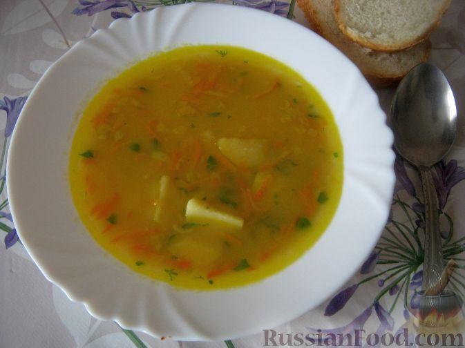 Рецепт Суп гороховый вегетарианский