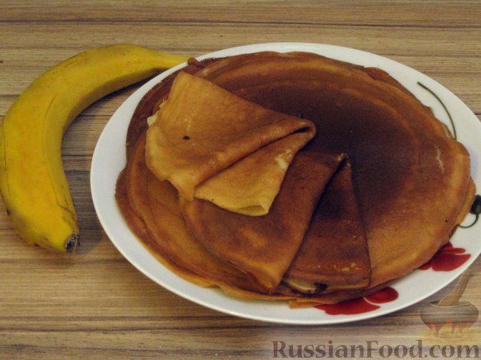 Рецепт Банановые блинчики