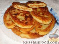 Фото приготовления рецепта: Картофельные язычки с капустой - шаг №4