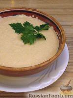 Фото к рецепту: Крем-суп из баклажанов с помидорами
