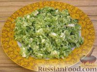 Фото к рецепту: Шпинатный рис с брынзой